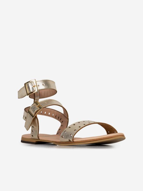 Palta06, Todos los zapatos, Sandalias Planas, ORO_D