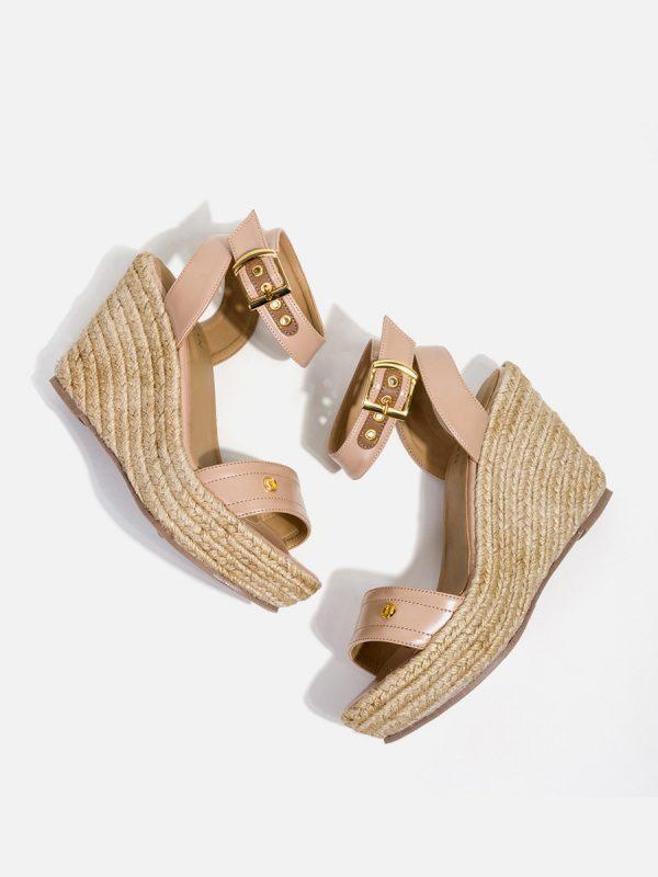Nina01, Todos los zapatos, Sandalias Plataforma, BEI (1)