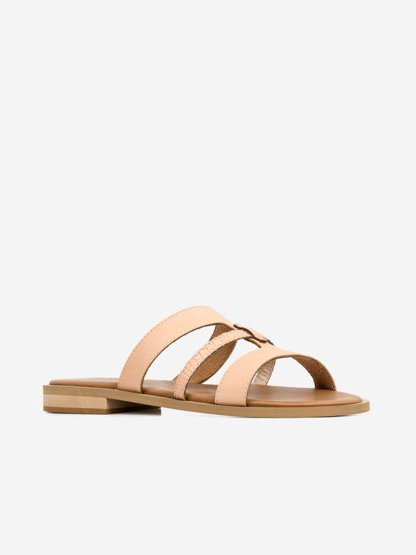 ABBY4, Todos los zapatos, Sandalias Planas, NUD (2)