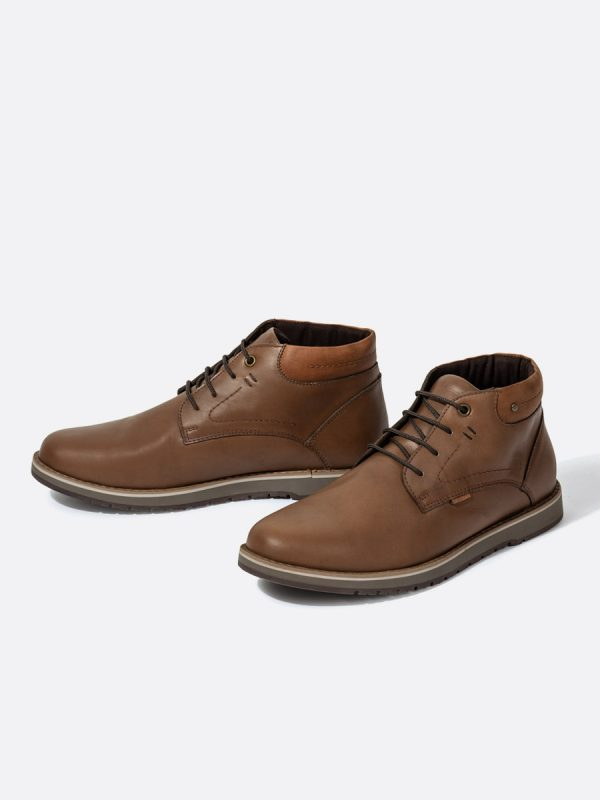 SAMUS03, Todos los Zapatos, Zapatos Casuales, Cuero, CAF, Vista Galeria