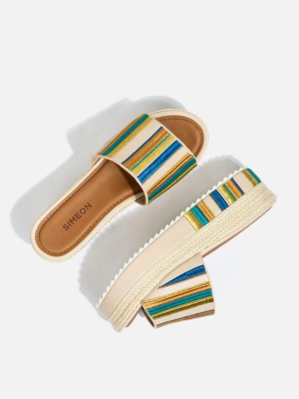 MATISE, Todos los zapatos, Sandalias Plataforma, BEI (1)