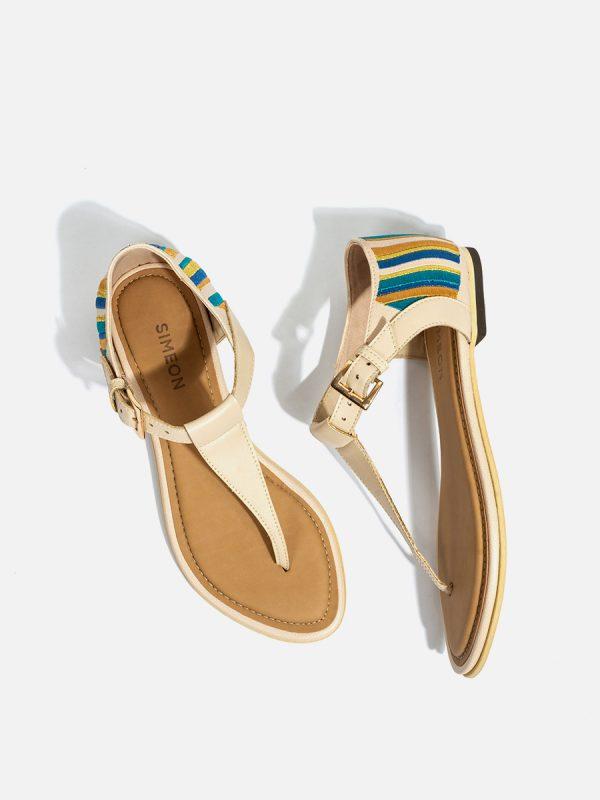 MATISE02, Todos los zapatos, Sandalias Planas, BEI (2)