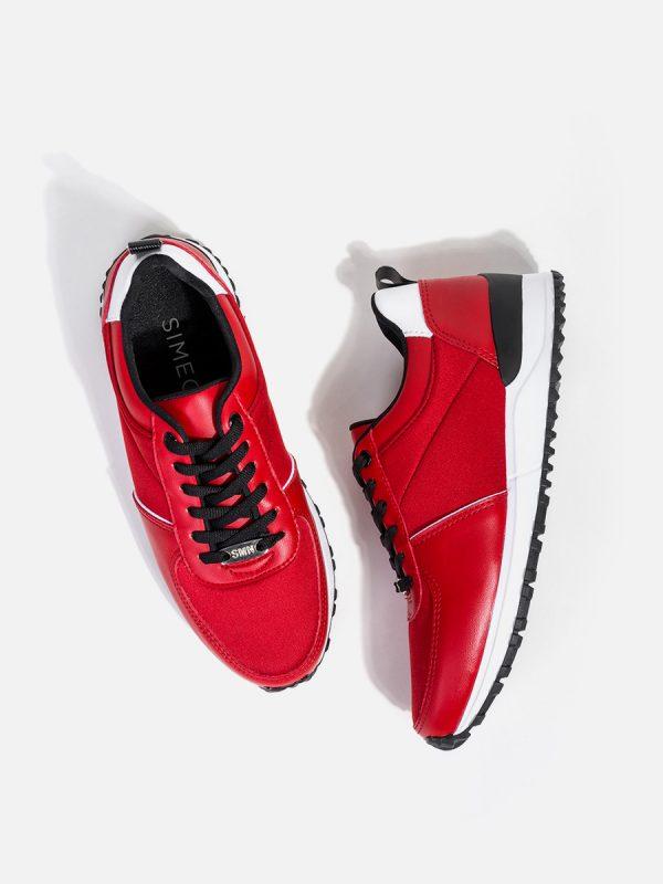 MIKAL, Todos los zapatos, Tenis, Deportivos, ROJ (2)