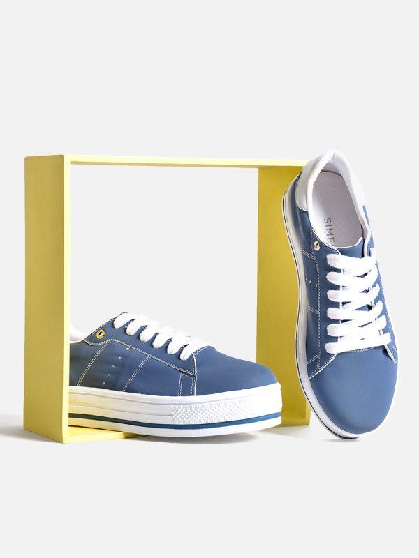 CANCUN, Todos los zapatos, Sandalias Plataforma, AZU