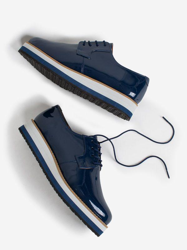 CARMINA, Todos los Zapatos, Zapaton de Cordon, Oxford, Tenis, AZU (2)