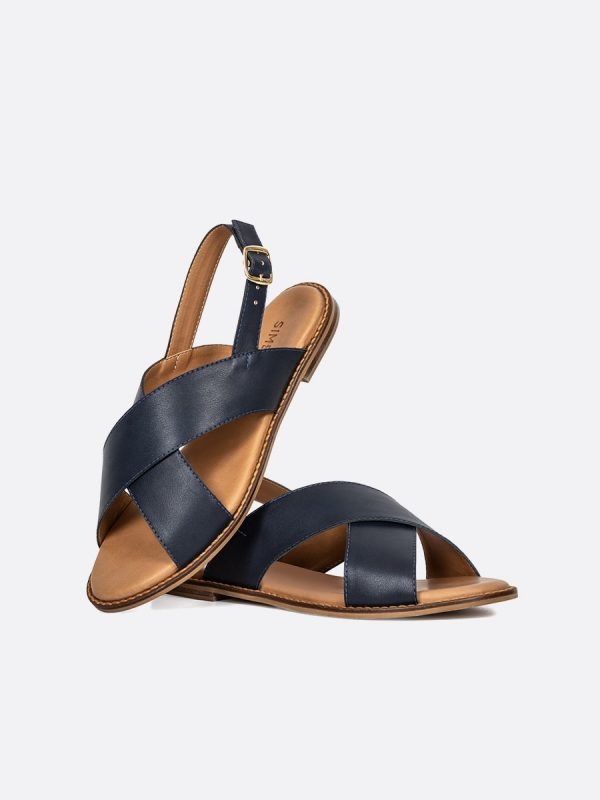 LIKA19, Todos los zapatos, Sandalias Planas, NEG, Sintético, Vista Galeria