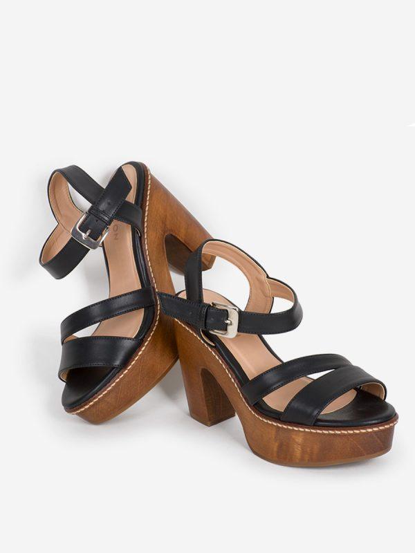 LINER, Todos los zapatos, Sandalias Plataforma, NEG (1)