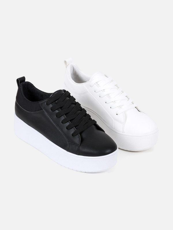 NOAH, Todos los zapatos, Sandalias Plataforma, NEG (2)