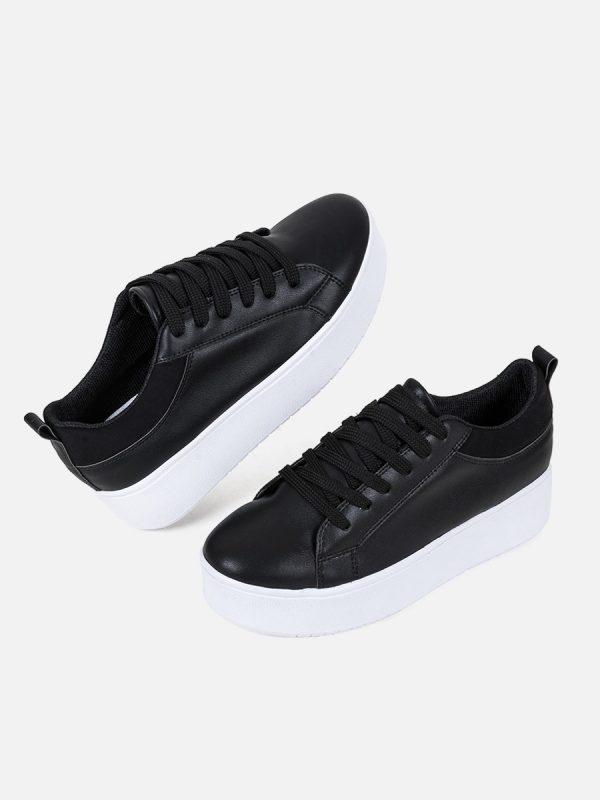 NOAH, Todos los zapatos, Sandalias Plataforma, NEG (4)