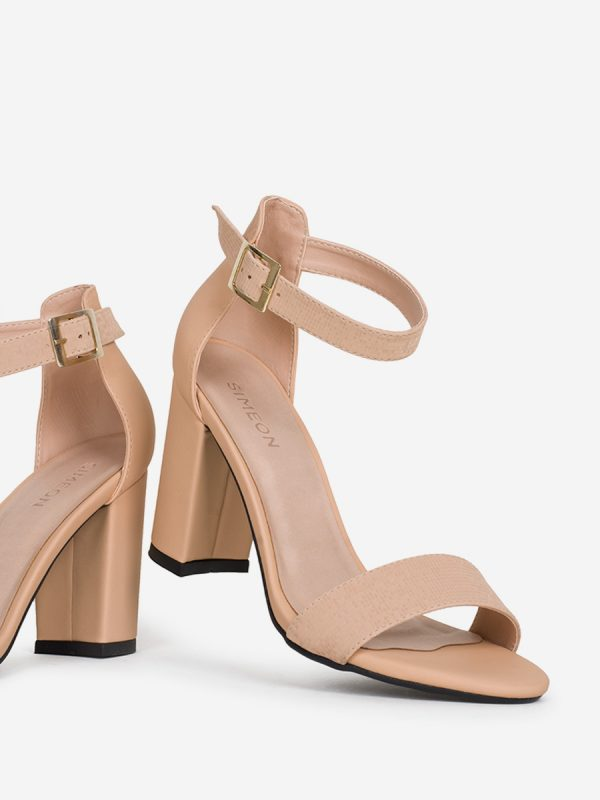 SAMY, Todos los zapatos, Sandalias, Sandalias de Tacón, NUD (2)