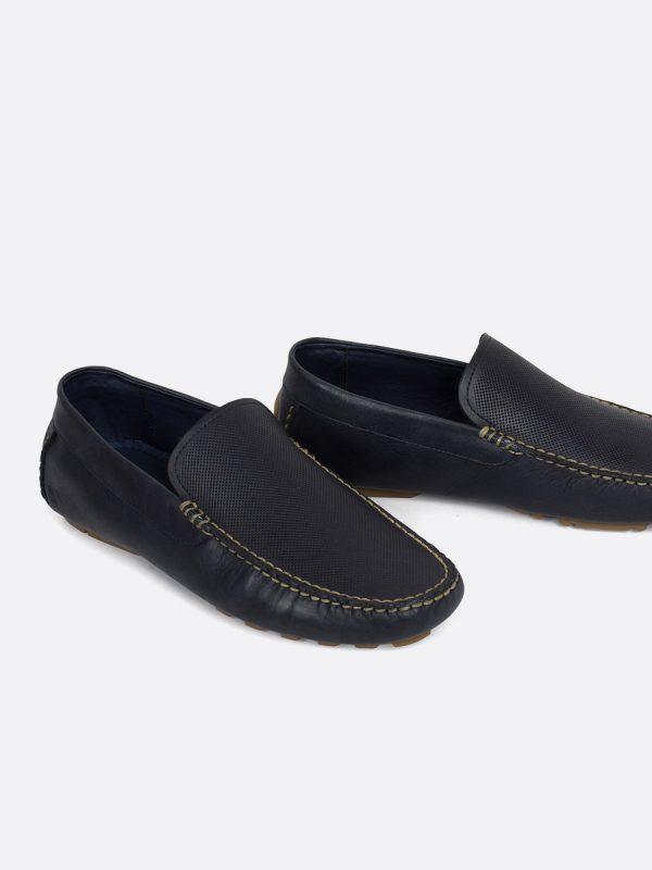 2901OS19, Todos los Zapatos, Mocasines, Cuero, AZU Vista galeria