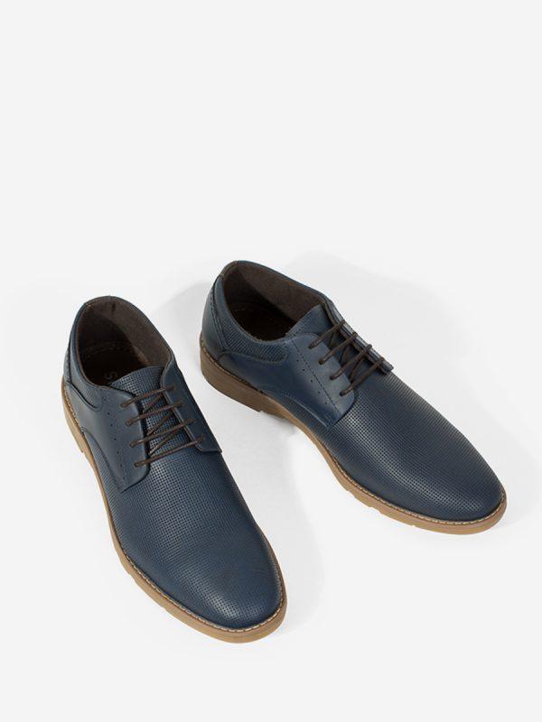 BELMO01, Todos los Zapatos, Zapatos Casuales, Cuero, AZU, Vista Galeria