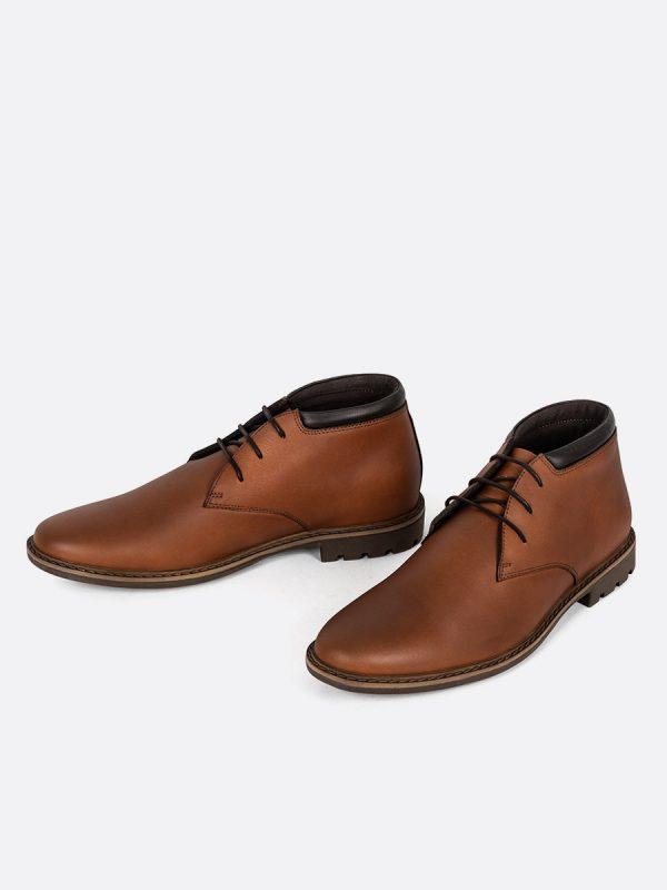 CRISTIAN01, Botas Casuales, Zapatos Casuales, Cuero, MIE, Vista Galeria
