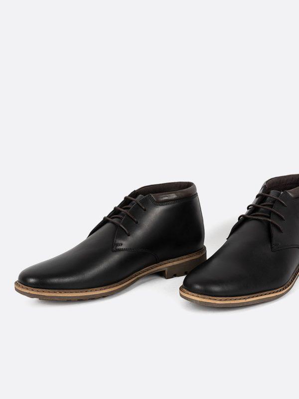 CRISTIAN01, Botas Casuales, Zapatos Casuales, Cuero, NEG, Vista Galeria