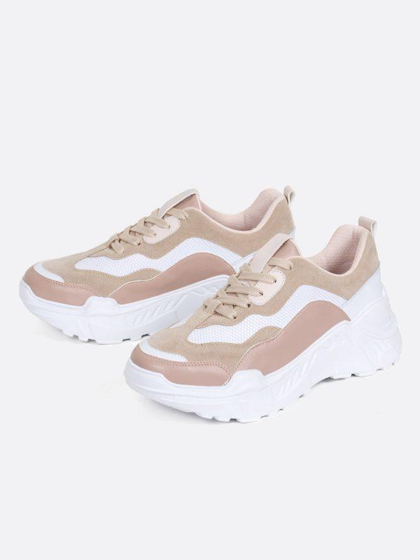 LOSY, Todos los zapatos, Sandalias Plataforma, NUD, Vista Galeria
