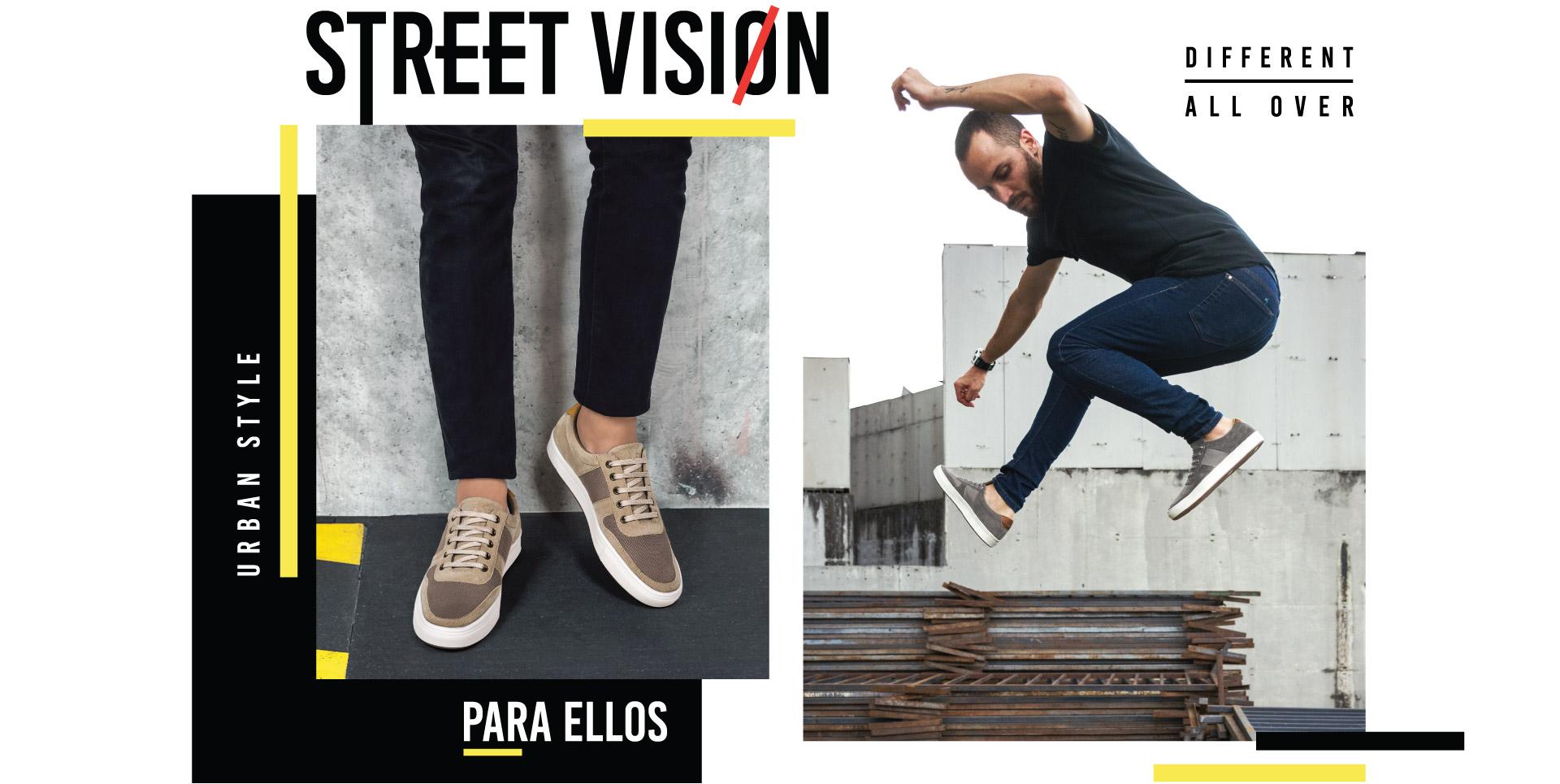 Zapatos para hombre Simeon casuales Urban Style