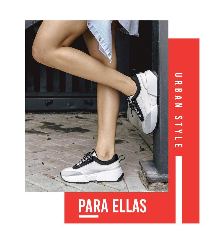 Zapatos para Mujer Simeon casuales Urban Style