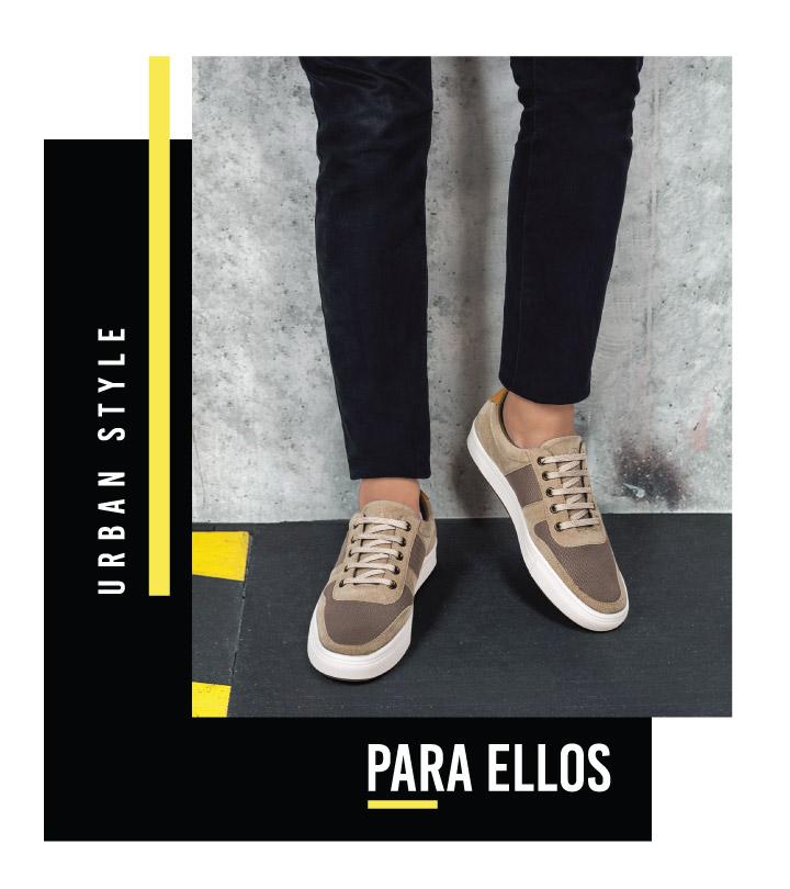 Urban Style Zapatos casuales para caballero