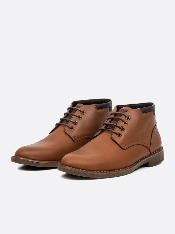 SAUL03, Botas Casuales, Zapatos Casuales, Cuero, MIE Vista Galeria (1)