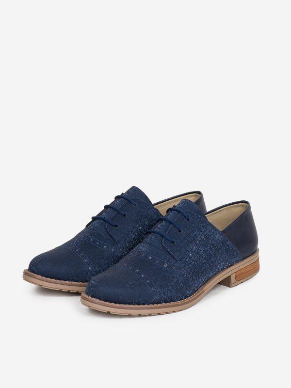 TAYMI2 Todos los zapatos, Zapatos de Cordón, Sintético, AZU Vista Galeria