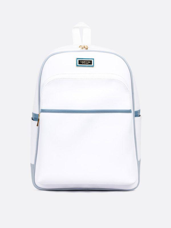 1088BS, Todos los Accesorios, Morral, Backpack, Sintético, BLA, Vista Frontal