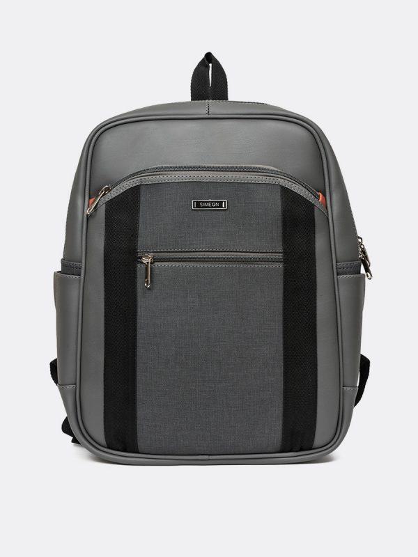 699MS, Todos los Accesorios, Backpack, Morral, Sintético, GRI Vista Vista Frontal