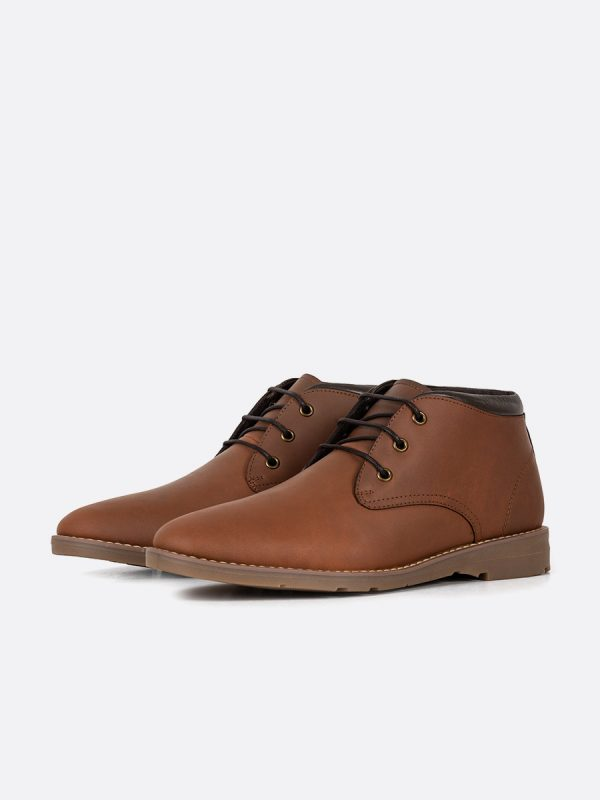 BELMO02,Todos los Zapatos, Zapatos Casuales, Botas Casuales, Cuero, MIE, Vista Galeria