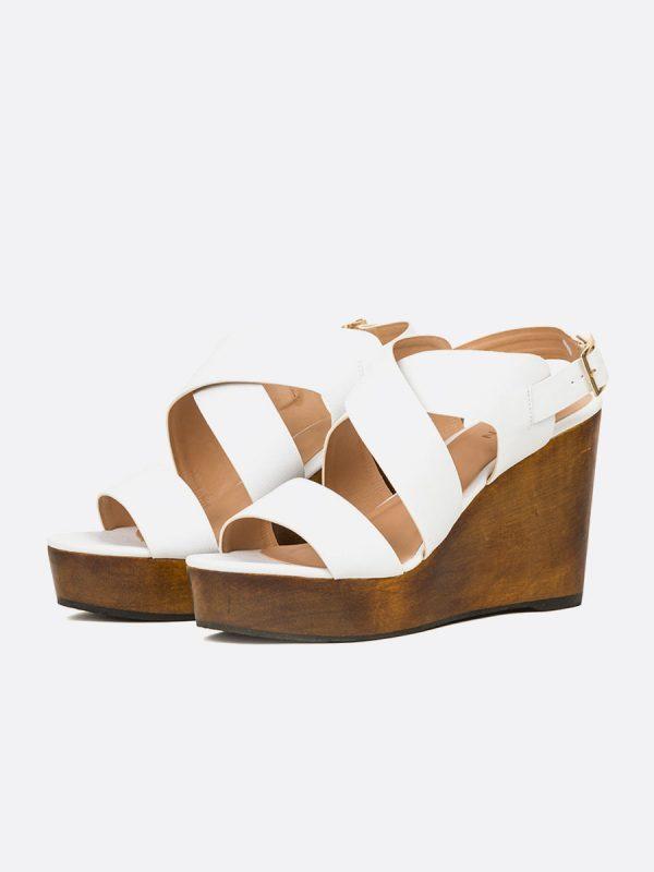 CECILLE2, Todos los zapatos, Plataformas, Sandalias Plataformas, Sintético, BLA, Vista Galeria