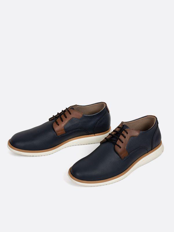 FENDY02, Todos los Zapatos, Zapatos Casuales, Cuero, AZU Vista Galeria