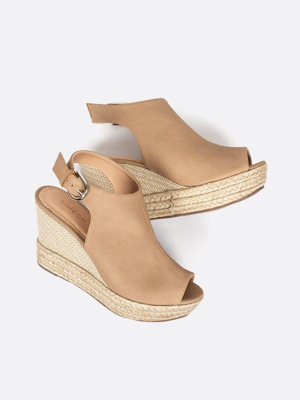 MARTELL, Todos los zapatos, Plataformas, Sandalias Plataformas, Sintético, NU, Vista Galeria