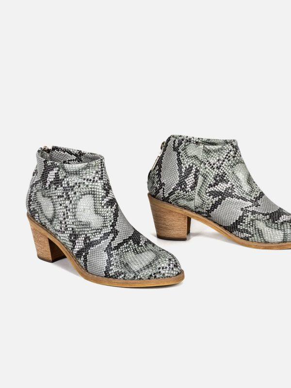MONK, Todos los zapatos, Botas, Sintético GRI Vista Galeria