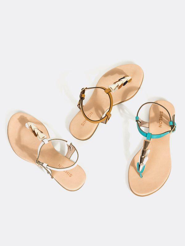 PALTA13, Todos los zapatos, Sandalias, Sandalias Planas, Sintético Vista Galeria