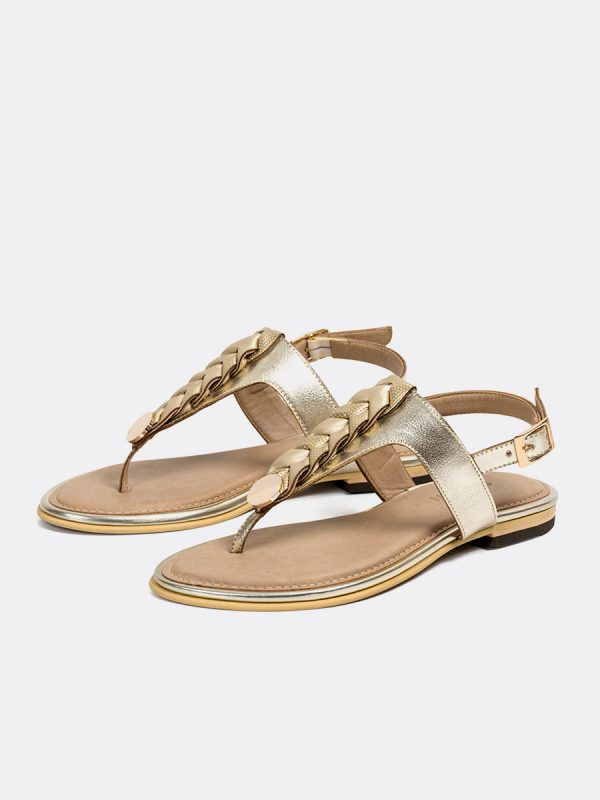 TALIS4, Todos los zapatos, Sandalias, Sandalias Planas, Sintético, CHA, Vista (1)