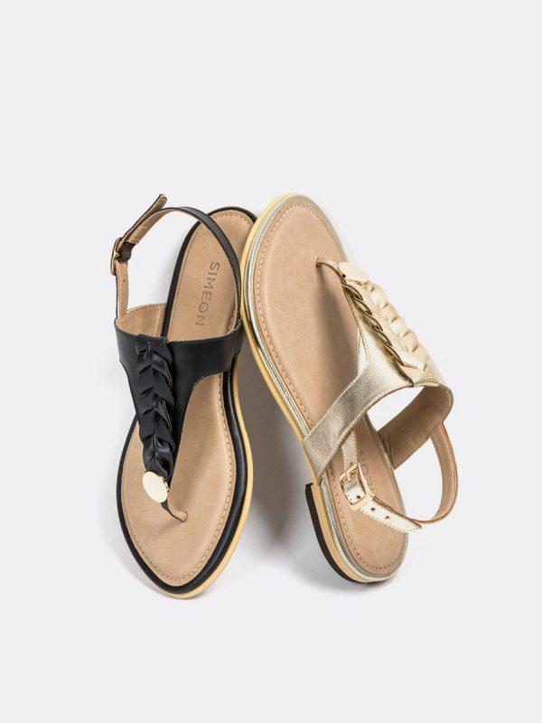 TALIS4, Todos los zapatos, Sandalias, Sandalias Planas, Sintético, CHA, Vista (2)