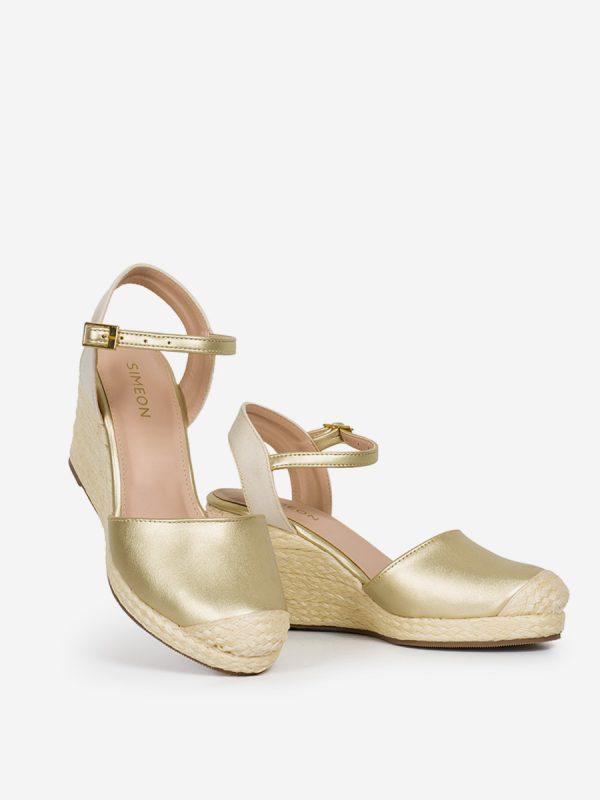 THAI, Todos los zapatos, Sandalias Plataforma, Sintético, Yute, CHA, Vista Galeria