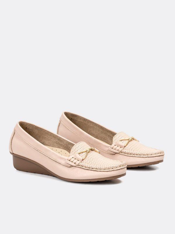 BECK, Todos los zapatos, Mocasines, Cuero, NUD, Vista (1)
