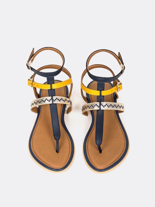 CLOR2, Todos los zapatos, Sandalias, Sandalias Planas, Sintético, MOS, Vista Galeria