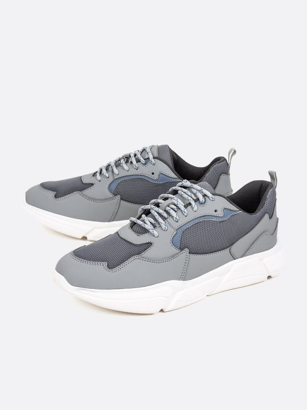 DECO01, Todos los zapatos, Deportivos, Tenis, Cuero, GRI, Vista (1)