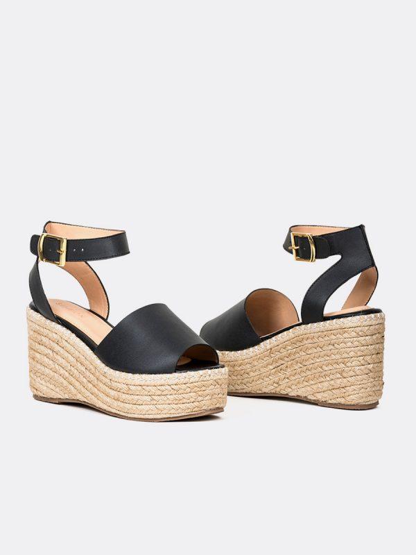 HONEY19, Todos los zapatos, Plataformas, Sandalias Plataformas, Sintético, NEG, Vista Galeria