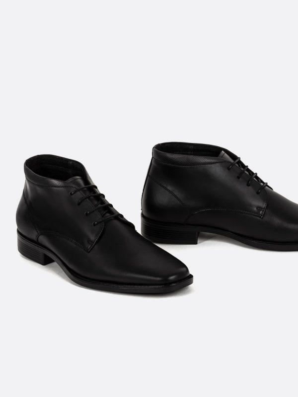 ISRAEL5, Todos los zapatos, Formales, Botas Formales, Cuero, NEG, Vista Galeria