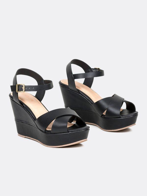 JADE03, Todos los zapatos, Plataformas, Sandalias Plataformas, Sintético, NEG, Vista Galeria
