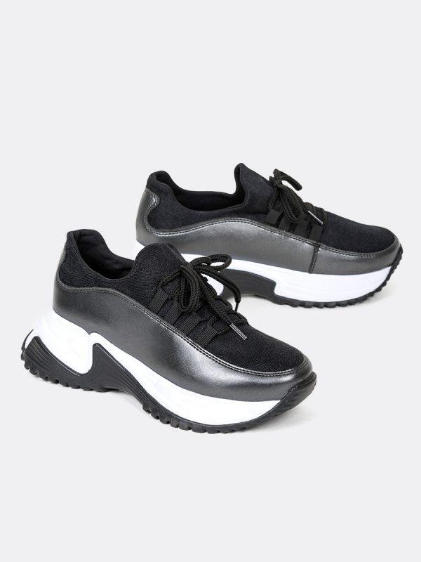 JETT, Todos los zapatos, Tenis, Deportivos, Sintetico, NEG, Vista Galeria