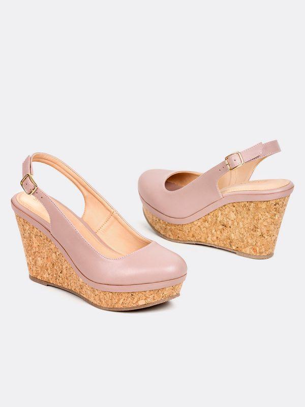 LIU, Todos los zapatos, Plataformas, Sandalias Plataformas, Sintético, ROS, Vista Galeria