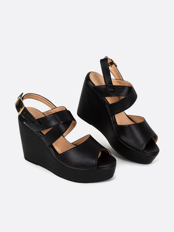 MARZA, Todos los zapatos, Plataformas, Sandalias Plataformas, Sintético, NEG, Vista Galeria
