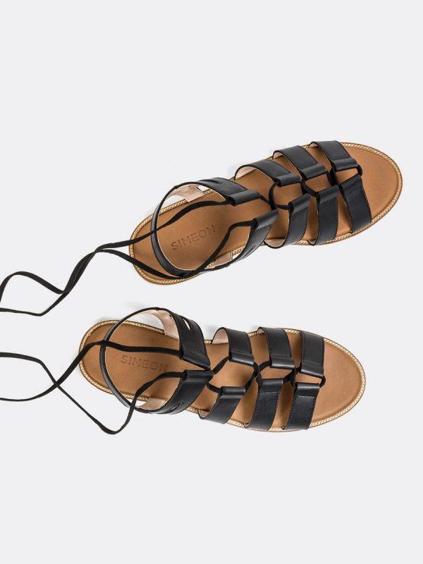 MEVA, Todos los zapatos, Sandalias, Sandalias Planas, Sintético, NEG Vista Galeria