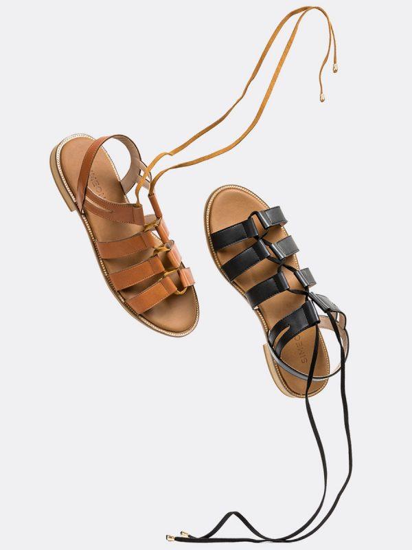 MEVA, Todos los zapatos, Sandalias, Sandalias Planas, Sintético, Vista Galeria