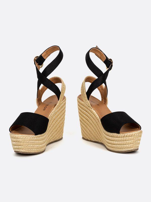 PINERA, Todos los zapatos, Plataformas, Sandalias Plataformas, Sintético, NEG, Vista Galeria