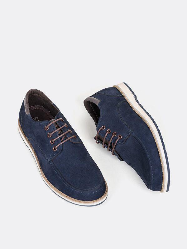 SAMUS06,Todos los Zapatos, Zapatos Casuales, Cuero, AZU, Vista Galeria