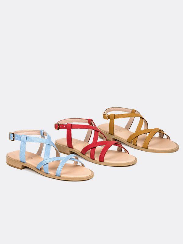 SOUL, Todos los zapatos, Sandalias, Sandalias Planas, Vista Galeria