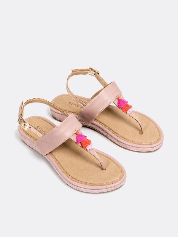 TALIS, Todos los zapatos, Sandalias, Sandalias Planas, Sintético, ROS, Vista Galeria